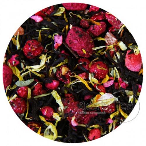 Черный ароматизированный чай Фруктовая фантазия от магазина Все чаи