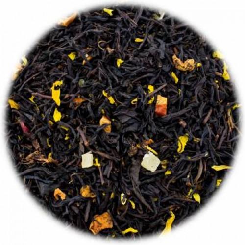 Черный ароматизированный чай Дыня со сливками от магазина Все чаи