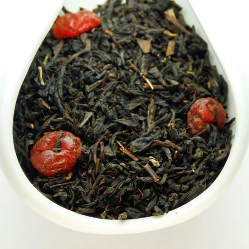 Черный ароматизированный чай Дикая вишня от магазина Все чаи