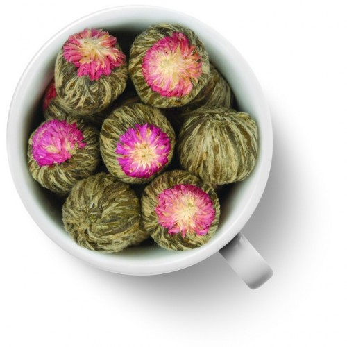Связанный чай Моли Юй Лун Тао (Жасминовый персик Дракона) от магазина Все чаи