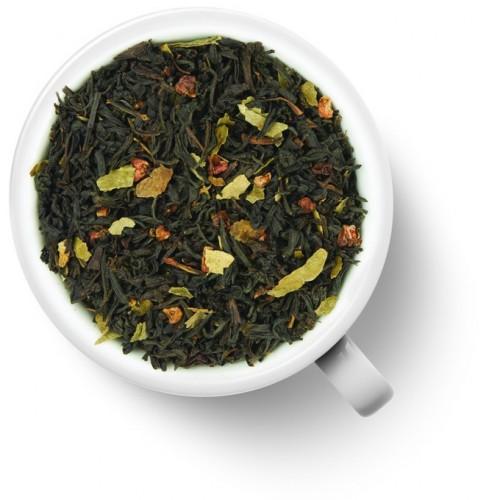 Черный ароматизированный чай Малина со сливками от магазина Все чаи