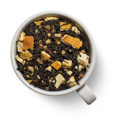 Черный ароматизированный чай с имбирем от магазина Все чаи