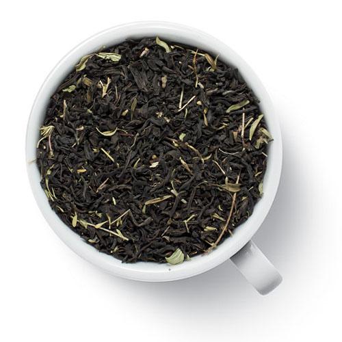 Черный чай с чабрецом от магазина Все чаи
