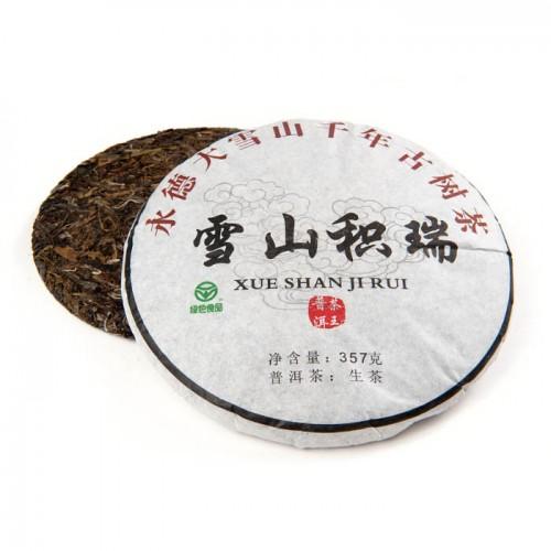 Шен Пуэр Да Сюе Шань блин 357 гр (фаб. Лаоху 2012 г.) от магазина Все чаи