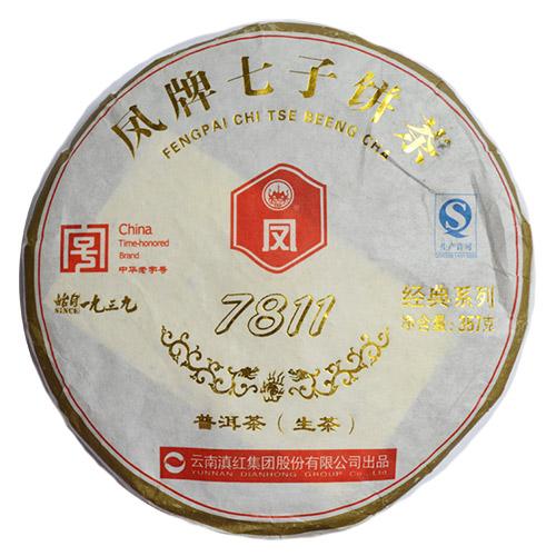 Шен Пуэр, 7811, 2012 г., блин от магазина Все чаи