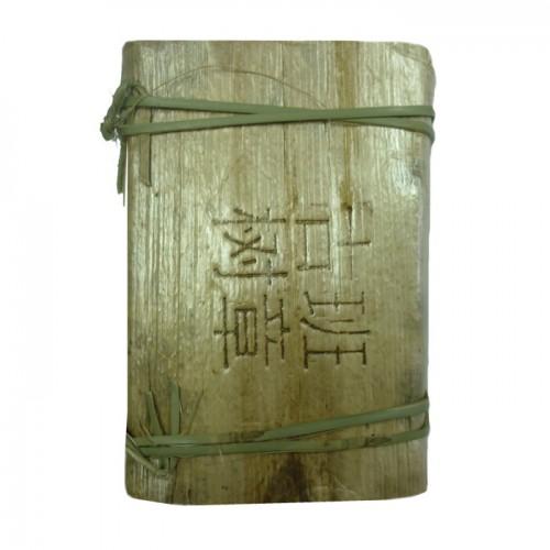 Шу пуэр в листьях бамбука, пресованный от магазина Все чаи