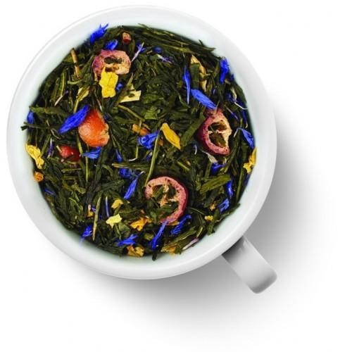 Зеленый ароматизированный чай c клюквой от магазина Все чаи