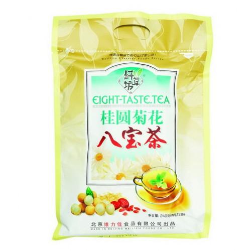 Зеленый ароматизированный чай Ба Бао Ча (Восемь сокровищ), с корицей от магазина Все чаи