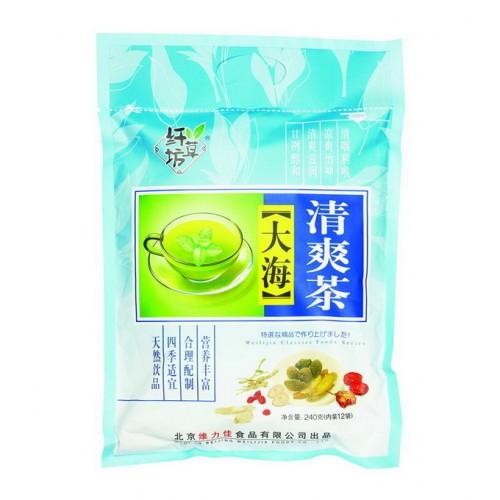 Зеленый ароматизированный чай Ба Бао Ча (Восемь сокровищ), с паньдаха от магазина Все чаи