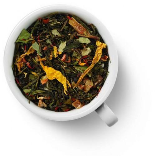 Зеленый ароматизированный чай Бенгальский тигр от магазина Все чаи
