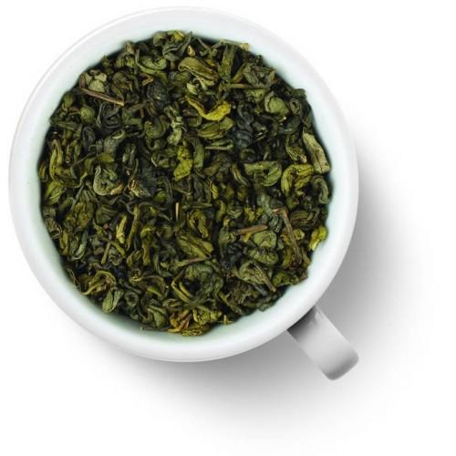 Зеленый ароматизированный чай Ганпаудер с мятой от магазина Все чаи