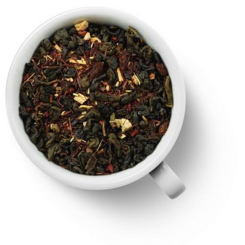 Зеленый ароматизированный чай Заряд бодрости от магазина Все чаи