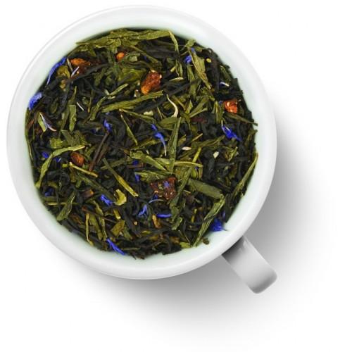 Зеленый ароматизированный чай Клубника в шампанском от магазина Все чаи