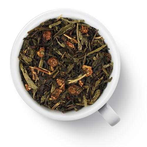 Зеленый ароматизированный чай Лунный замок от магазина Все чаи