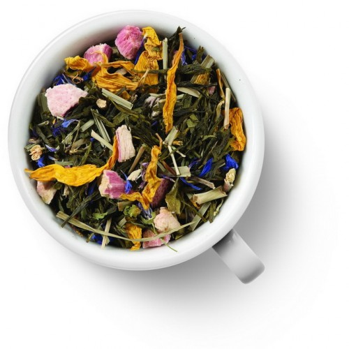 Зеленый ароматизированный чай Мечта Любовника от магазина Все чаи