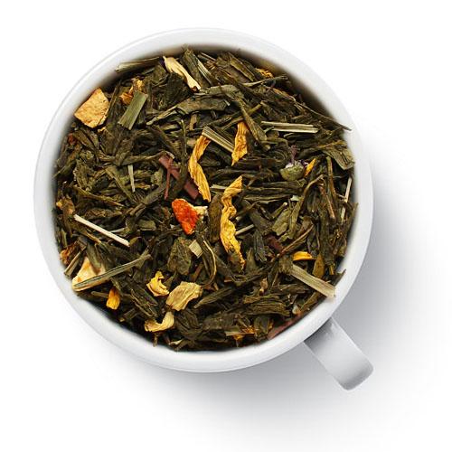 Зеленый ароматизированный чай Облепиха с лимоном от магазина Все чаи