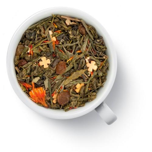 Зеленый ароматизированный чай Пасхальный от магазина Все чаи