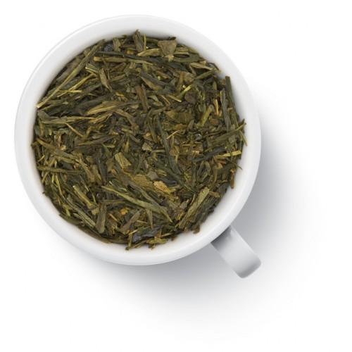 Зеленый ароматизированный чай Сенча с женьшенем от магазина Все чаи