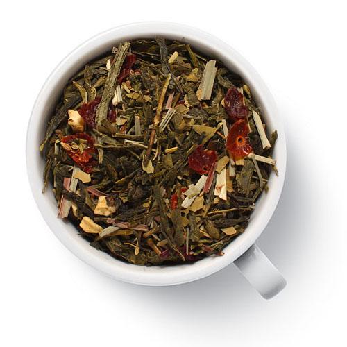 Зеленый ароматизированный чай Стройный чай от магазина Все чаи