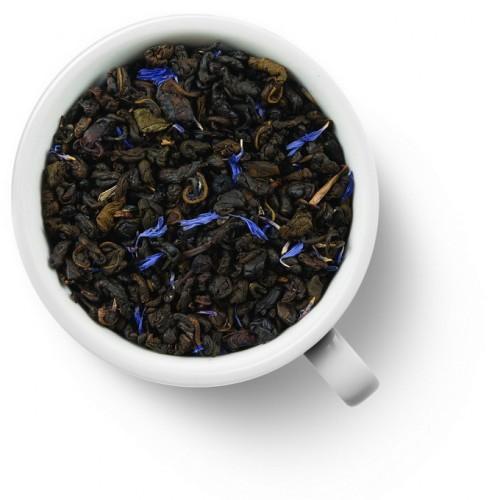 Зеленый ароматизированный чай Клубника со сливками