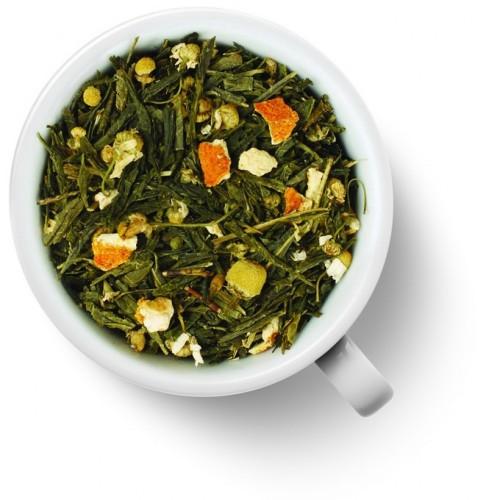 Зеленый ароматизированный чай Японская липа от магазина Все чаи