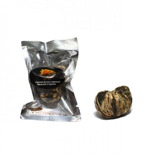 Корзина Будды с ароматом апельсина и персика в инд. уп. от магазина Все чаи