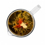 Связанный чай Бай Хэ Сянь Цзы (Шарик с цветами пурпурного амаранта) от магазина Все чаи