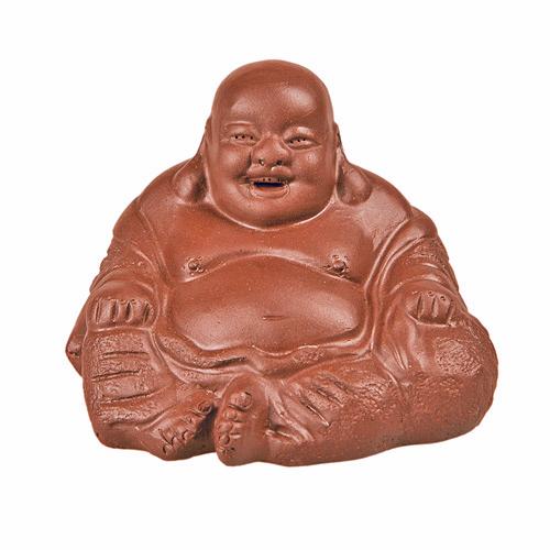 Глиняная Игрушка Для Чайной Церемонии Хоттей с Мешком (Красная Глина) от магазина Все чаи