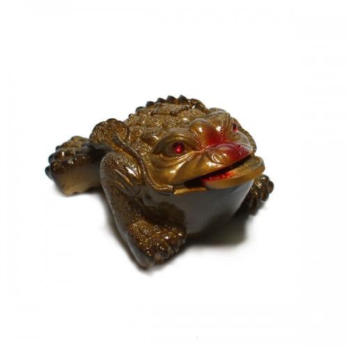 Статуэтка для чайной церемонии «Lucky Big Frog» от магазина Все чаи