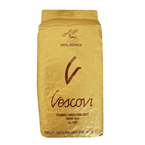 Кофе в зернах Vescovi Оро, уп. 1 кг от магазина Все чаи
