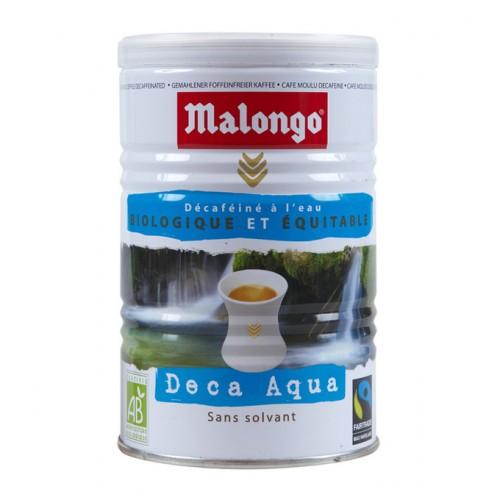 Кофе молотый Malongo Без кофеина, банка 250 г от магазина Все чаи