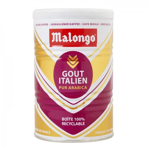 Кофе молотый Malongo Итальянский вкус, банка 250 г от магазина Все чаи