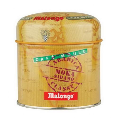 Кофе молотый Malongo Мока Эфиопия Сидамо, банка 125 г от магазина Все чаи