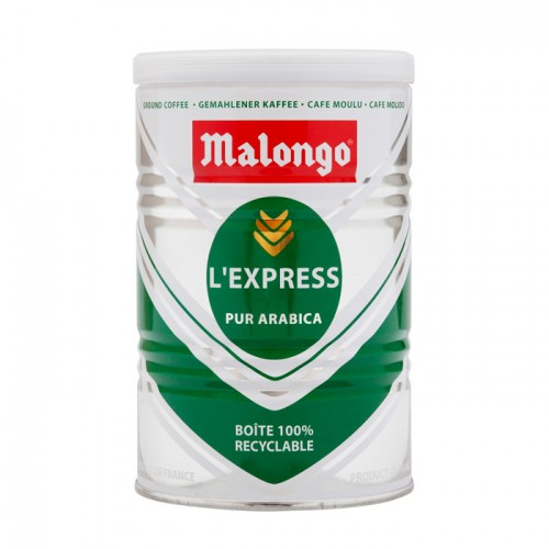 Кофе молотый Malongo Эспрессо, банка 250 г от магазина Все чаи