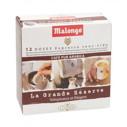 Кофе Malongo в чалдах Гранд Резерв (12 шт.) от магазина Все чаи