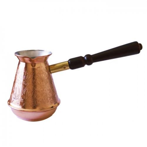 Турка медная со съемной ручкой Турчанка, 300 мл от магазина Все чаи