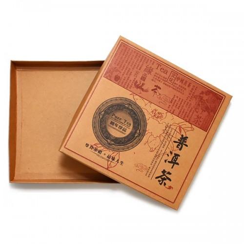 Коробка для блина пуэра от магазина Все чаи