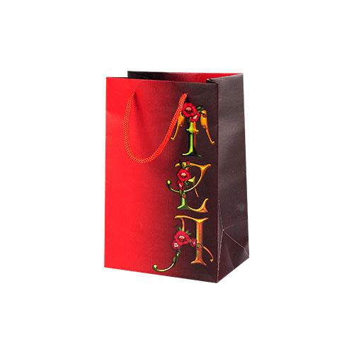 Пакет подарочный Пламенный цветок от магазина Все чаи