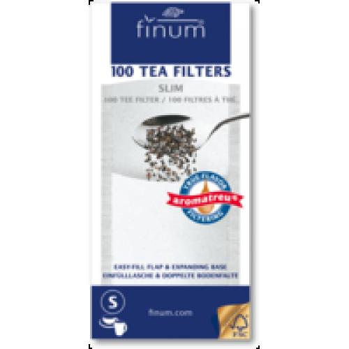 Фильтры для чая отбеленные, размер S (100 шт.) от магазина Все чаи