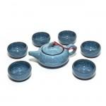 Чайный набор Колотый лед небесный (6 персон) от магазина Все чаи