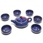 Чайный набор Колотый лед синий (6 персон) от магазина Все чаи