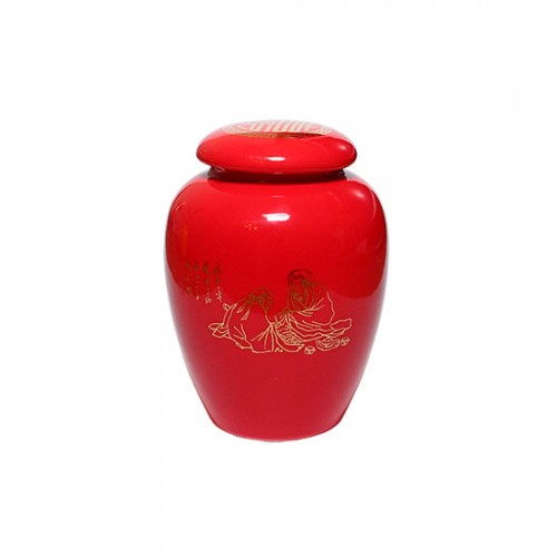 Чайница малая красная, 70 мл от магазина Все чаи