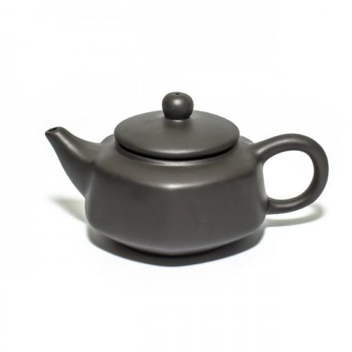 Глиняный чайник Хотей-2 черный, 150 мл от магазина Все чаи