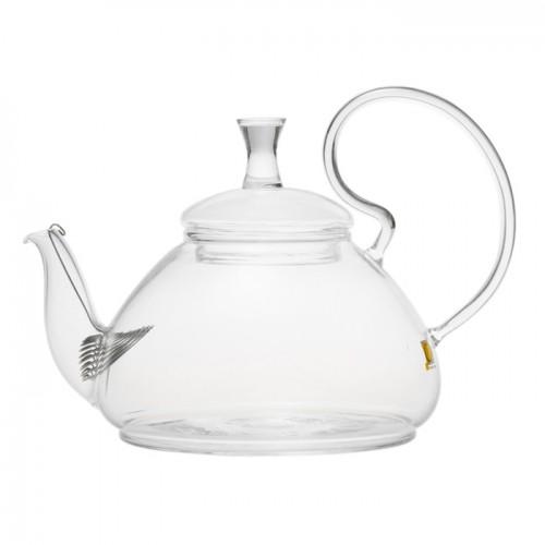 Стеклянный заварочный чайник Георгин, 670 мл от магазина Все чаи