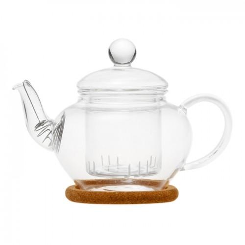 Стеклянный заварочный чайник Нарцисс, 350 мл от магазина Все чаи