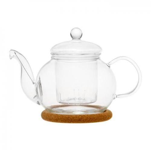 Стеклянный заварочный чайник Подснежник, 350 мл от магазина Все чаи