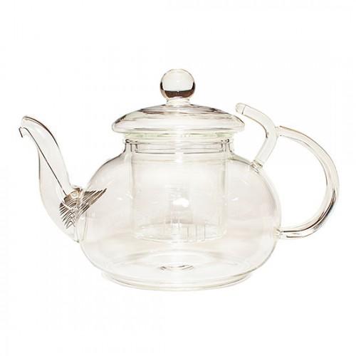 Стеклянный заварочный чайник Рассвет, 600 мл от магазина Все чаи