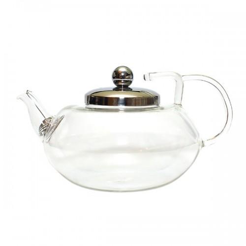 Стеклянный заварочный чайник Сингапур, 600 мл от магазина Все чаи