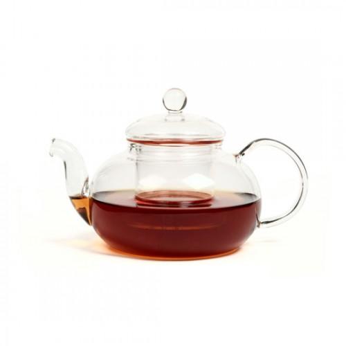 Стеклянный заварочный чайник Смородина малая с заварочной колбой, 600 мл от магазина Все чаи