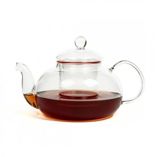 Стеклянный заварочный чайник Смородина с заварочной колбой, 900 мл от магазина Все чаи